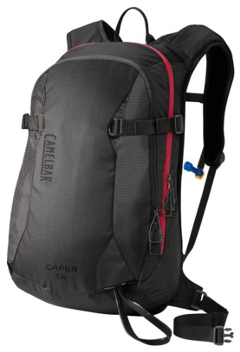 Camelbak Caper 14 Ski Hydration Pack, Charcoal