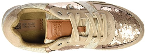 Gioseppo Spears, Zapatillas de Deporte para Mujer Dorado (Gold)