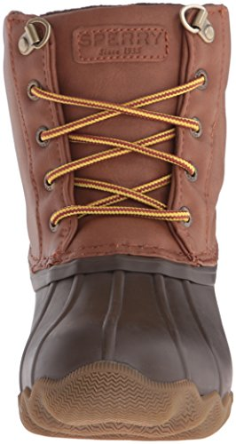 Niños botas de senderismo Sperry Top-Sider Avenue pato, Niños, Brown / Tan, M US Niño grande