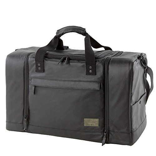 HEX Unisex Sneaker Duffel Calibre Black Duffel Bag by HEX