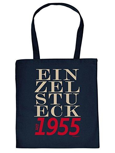 Bellissima Shopping Bag In Cotone Per Il 60 ° Compleanno: Unica Dal 1955, Grande Idea Regalo Dal Design Goodman