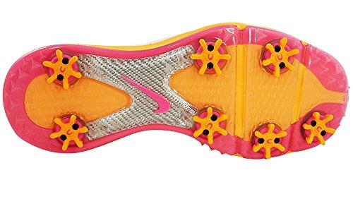 Nike Golf Ladies Lunar Control Golf Shoes 6 M US White/Pink SFpzSr