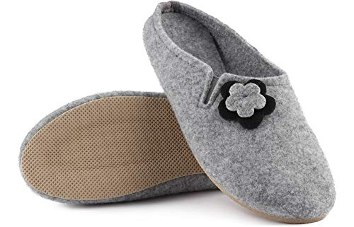 Grigio Ladeheid Donna Labr535 Pantofole 2 nrqPq0Xxa