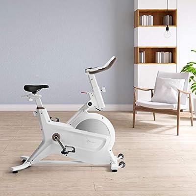 Klarfit Aeris Bicicleta estática - Volante de inercia de 18 kg ...