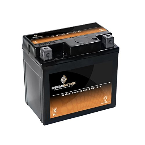 V-rod Battery - YTX5L-BS High Performance - Maintenance Free - Sealed AGM Motorcycle Battery