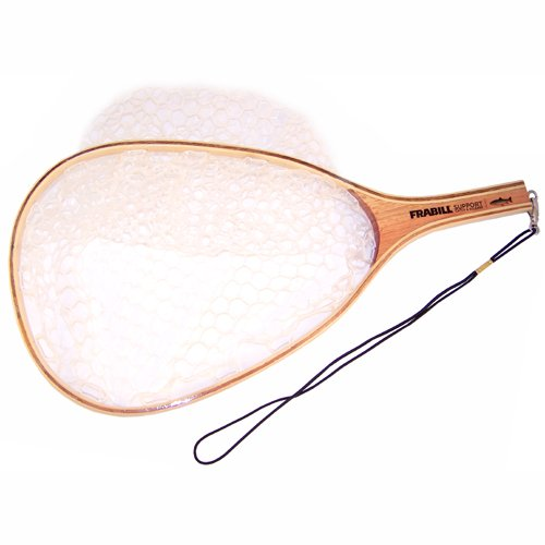 Deluxe Wood Tear Drop Trout Landing Nets, Outdoor Stuffs