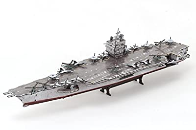 CubicFun P677h USS Enterprise Aircraft Carrier 3d Puzzle, 121 Pieces