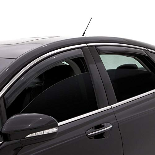 Auto Ventshade 194852 In-Channel Ventvisor Side Window Deflector, 4-Piece Set for 2016-2018 Kia Optima