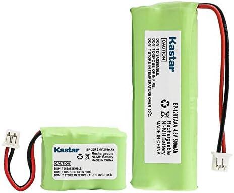 Kastar BP12RT Dog Training Collar Transmitter and BP20R Receiver Battery for Dogtra 300M, 302M, Surestim M Plus, 280 NCP, 7000M, 282 NCP, 200 NCP Gold, 175 NCP, 7002M, 212 NCP, 210 NCP, 202 NCP Gold
