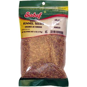 Fennel Seeds (Semillas de Hinojo) 6 ounce (Pack of 6)
