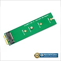 M.2 NGFF SSD to 18 Pin Blade Adapter for Asus UX31 UX21 Zenbook
