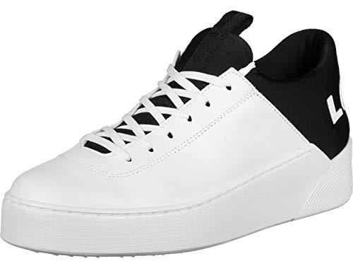 Levi's ® Chaussures S Mullet Blanc Noir Lt W UdRqwxO6R