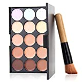 Best U-Beauty Liquid Foundation Brushes - 15Color Concealer Foundation Highlighter Facial Face Cream Care Review