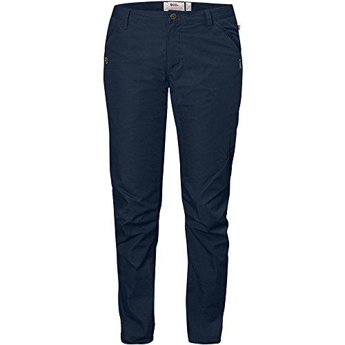 Pantalones de senderismo para mujer Kiruna G-1000 pantalones azul marino