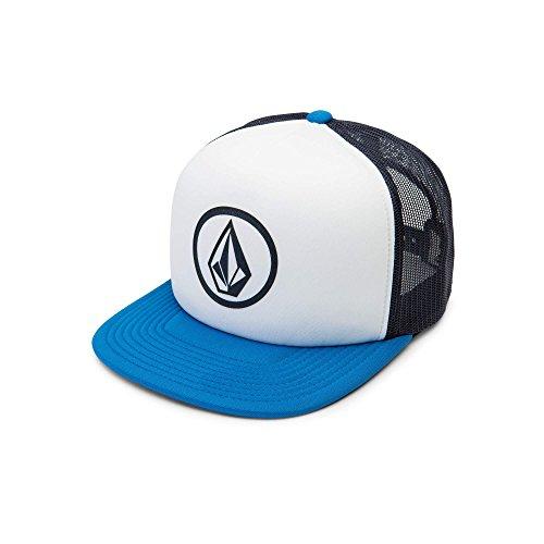 Volcom Men's Full Frontal Cheese 5 Panel Trucker Hat, Free Blue, O/S ()