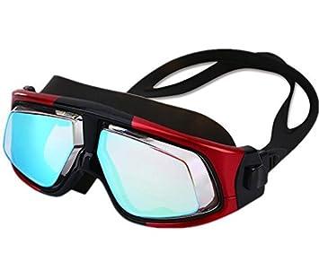 TTYY Gafas de natación HD Polarizado a prueba de golpes a prueba de agua de la