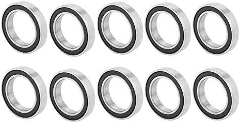 깊은 홈 볼 베어링 10 개의 6803-2RS 깊은 홈 볼 베어링 17 ㎜ * 26 ㎜ * 5 밀리미터 / Deep Groove Ball Bearings, 10pcs 6803-2RS Deep Groove Ball Bearings 17mm*26mm*5mm
