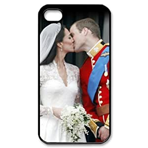 Custom Your Own Personalised Prince Wiliam and Kate Royal Wedding Iphone 4/4S Best Durable Hard Cover Case