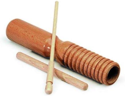 GÜIRO + CAJA CHINA CON DOS BATIENTES: Amazon.es: Instrumentos musicales