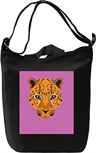 Pink Tiger Borsa Giornaliera Canvas Canvas Day Bag| 100% Premium Cotton Canvas| DTG Printing|