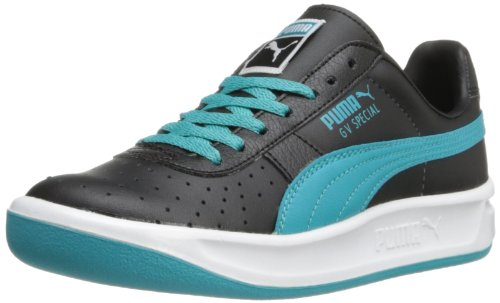 - PUMA GV Special Jr Sneaker (Little Kid/Big Kid) , Black/Bluebird, 2 M US Little Kid