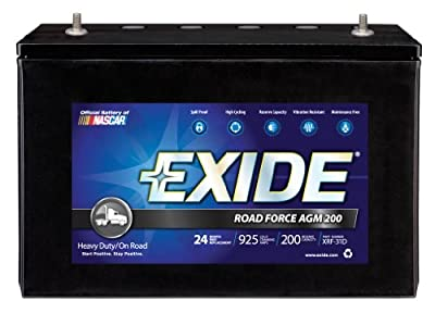 Exide XRF-31D ROADFORCE AGM-200 Sealed Maintenance-Free (AGM) Heavy-Duty/Commercial Battery