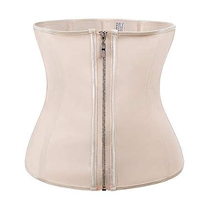 927383e9d Amazon.com  HeroStore Latex Body Shaper Girdle Waist Trainer Steel Boned  Modeling Belt Tummy Control Shapers Slimming Shapewear Cincher  Kitchen    Dining
