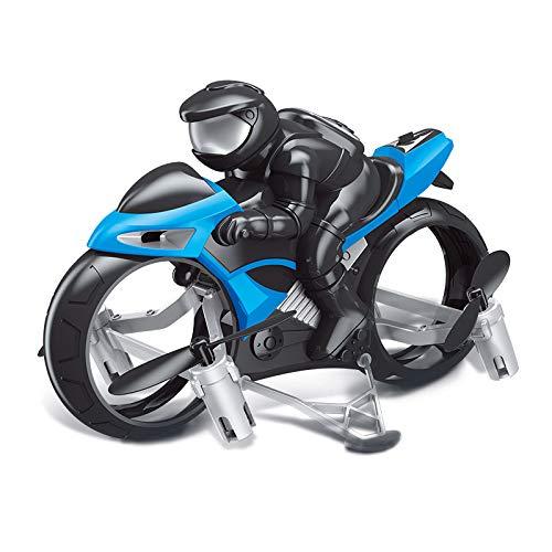 LilouGG RC Motocicleta, 2.4 G 4 CH sin Cabeza Drone Helicóptero de ...