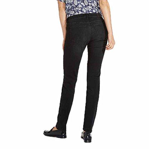 Black Wrangler Nighttime 6R Femme Jeans Noir 4qqFz01