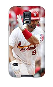New Arrival Cover Case With Nice Design For Galaxy S5- St_ Louis Cardinals
