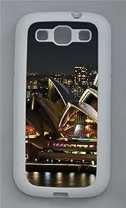 Brilliantly Illuminated Sydney Opera House TPU Case Cover for Samsung Galaxy S3 I9300 White