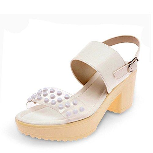 Exposées Anti De Des Les Fille Heel Le Femmes SHOESHAOGE High Sandales Minimaliste EU36 Chaussures Taiwan Wvxwq77fa8