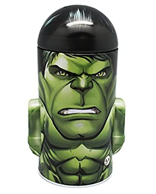 Marvel Heroes Avengers - Incredible Hulk - Bullet Shape Tin Coin Bank by TTB that we recomend personally.