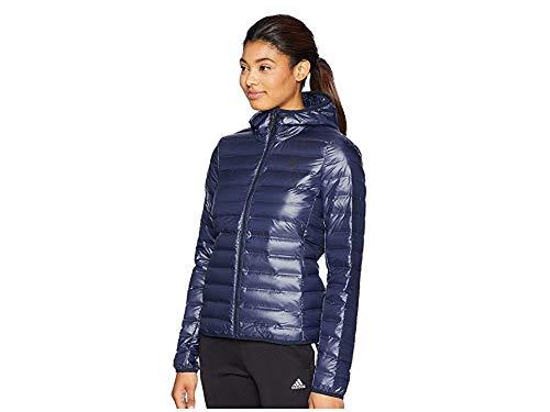 adidas outdoor Women's W Varilite Hooded Jacket, M, Legend Ink