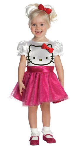[Hello Kitty Tutu Costume Dress - Toddler] (Hello Kitty Child Costumes)