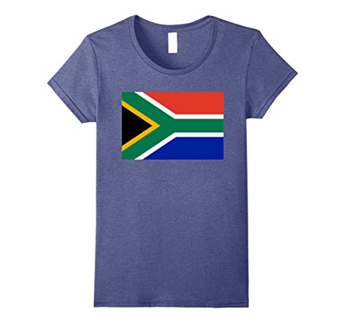 Womens South Africa Flag Shirt African Family Party Gift T-Shirt XL Heather - Africa South Women