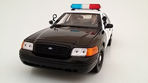 Seated Police Officers 2 Models Piece Figure Set for 1:24 Models 2 by American Diorama 23826 by American Diorama d12302