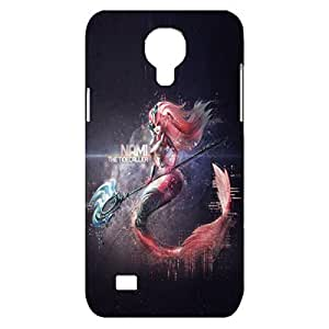 Nice Mermaid League of Legends(LOL) Plastic 3D Phone Case For Samsung Galaxy S4 mini