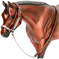 Breyer Traditional Western Stock Show Halter w/ Lead (1:9 Scale)