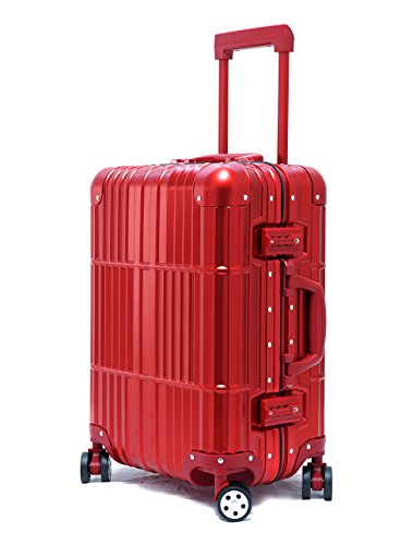 Cloud 9 - All Aluminum Luxury Luggage (20'' 24'' 28'') by Newbee Fashion