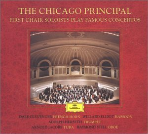 The Chicago Principal: First Chair Soloists Play Famous Concertos by Britten, Haydn, Mozart, Schumann, and Vaughan Williams (Plus Ravel: Bolero) - Chicago 2s