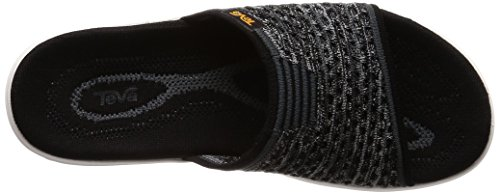 Knit Women's Terra Teva 6 Slide Black float 2 dIzxwqx4