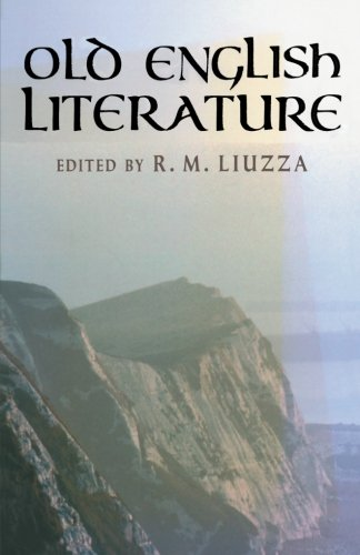 com old english literature critical essays  com old english literature critical essays 9780300091397 r m liuzza books