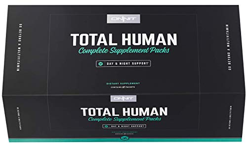 Onnit Total Human | Convenient Day and Night Vitamin Packs Complete with Essential Vitamins, Minerals, Herbs, and Amino Acids