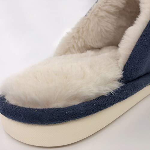 Donna Osvino Pantofole Pantofole Scuro Osvino Blu Donna Blu Scuro qOwq1Y