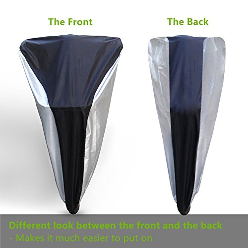 Ohuhu Bike Cover Waterproof Outdoor Bicycle Cover for Mountain and Road Bikes by Ohuhu (Image #6)
