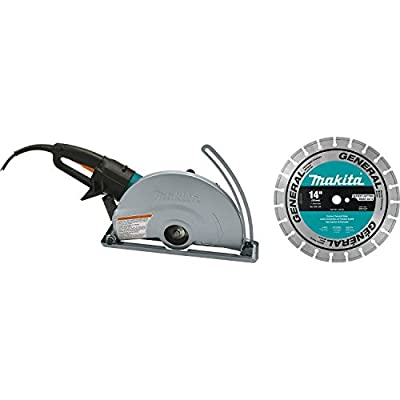 Makita 4114X 14-Inch Angle Cutter with Diamond Blade by Makita