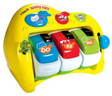 Amazon.com: Vtech rollo & Learn Piano: Toys & Games