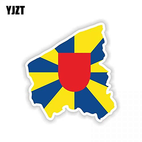 13.3CM12.2CM Personality West Flanders Belgium Map for sale  Delivered anywhere in USA