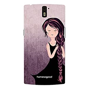 HomeSoGood A Beautiful Girlie Morning Multicolor 3D Mobile Case For OnePlus One (Back Cover)